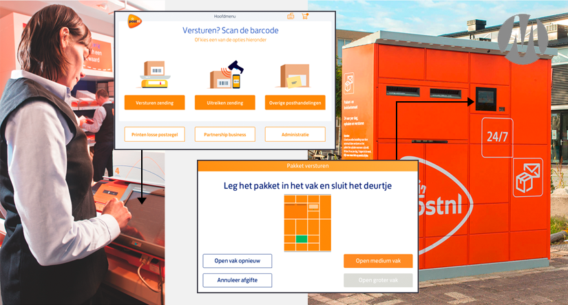 PostNL UX design & Customer Journeys
