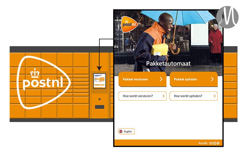 PostNL Pakketautomaat – UXdesign